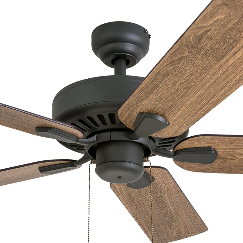 Millwood pines 52 tyrese 5 blade ceiling fan reviews wayfair 52 tyrese 5 blade ceiling fan aloadofball Image collections