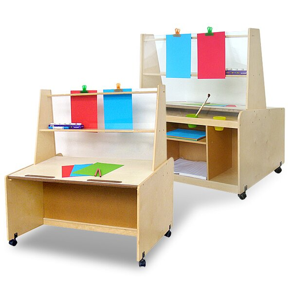 Double Sided Flipchart Easel by A+ Child Supply