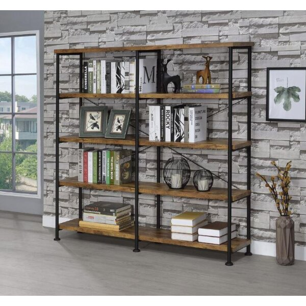 Cifuentes Dual Etagere Bookcase by Williston Forge