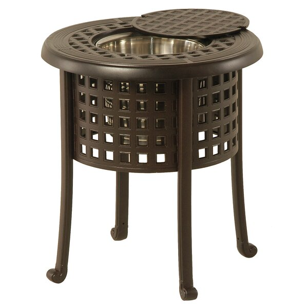 Domenic Metal Bistro Table by Darby Home Co Darby Home Co