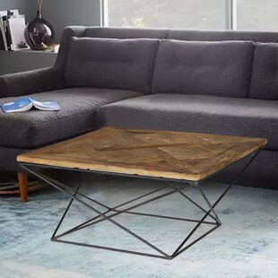 Charmant Torcere Reclaimed Elm Wood Coffee Table