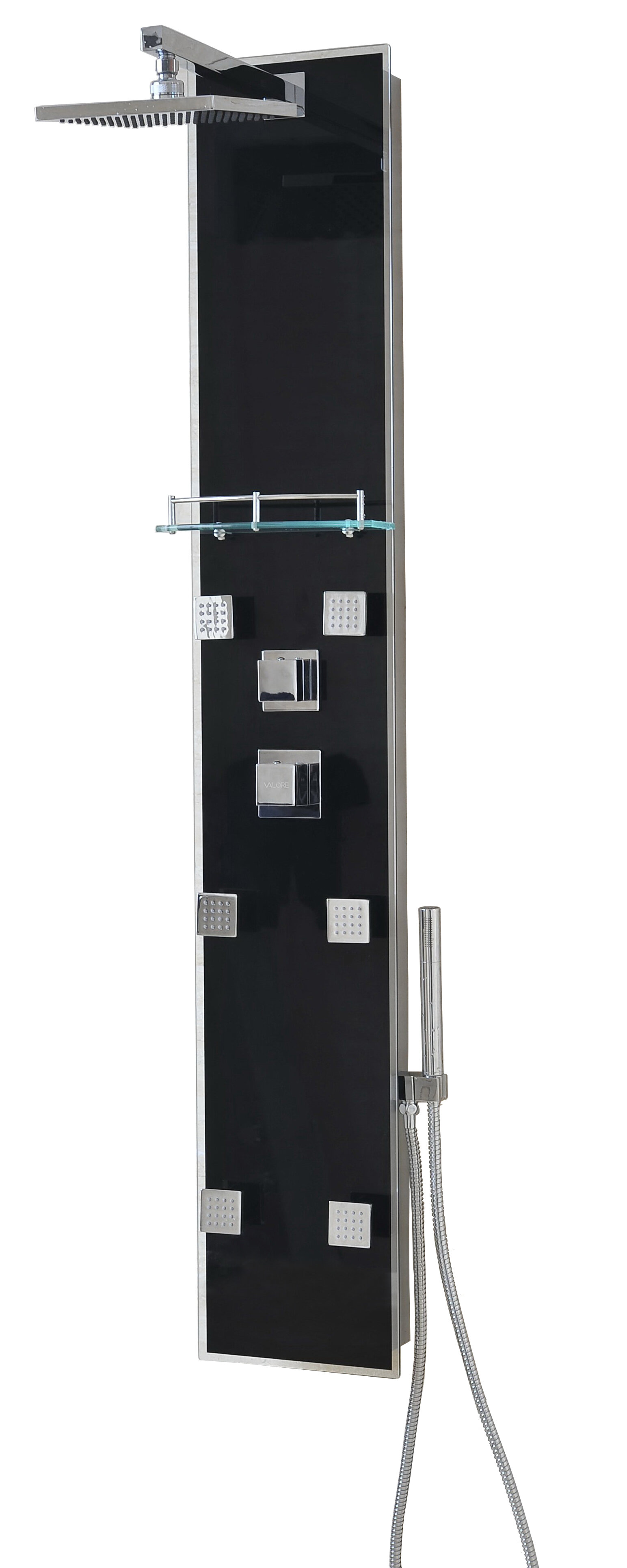 Valore Shower Spa System Panel Diverter/Dual Function & Reviews ...