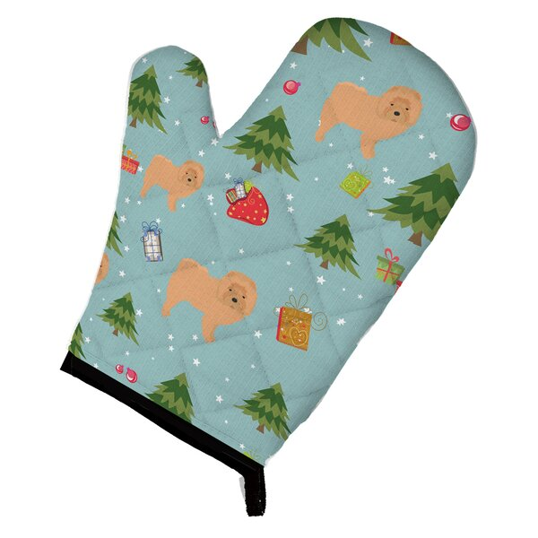 Christmas Chow Chow Oven Mitt by Caroline's Treasures
