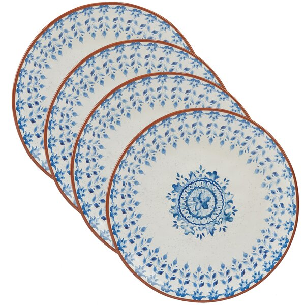 Yasmine Dinner Plate (Set of 4) by Mistana