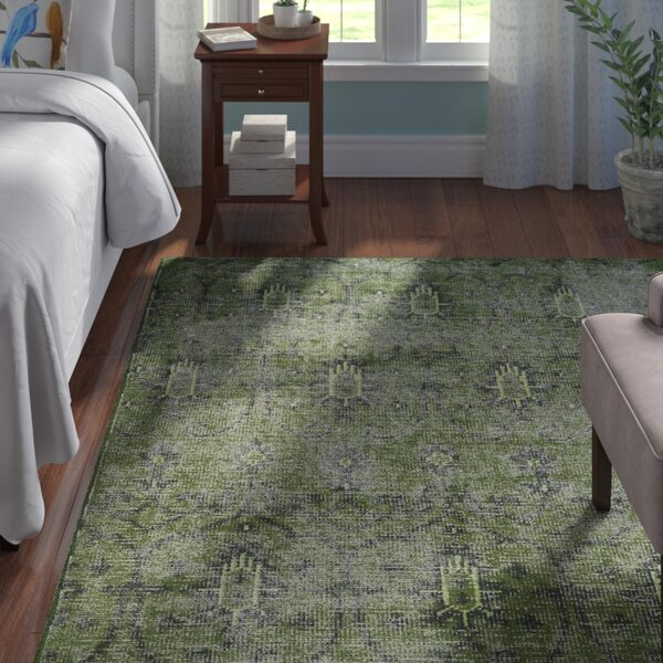 Plattville Green Area Rug by Andover Mills