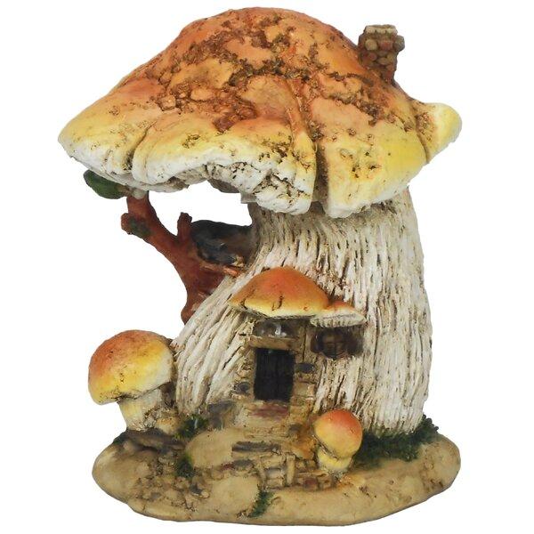 Fairy Garden Mushroom House by Hi-Line Gift Ltd.