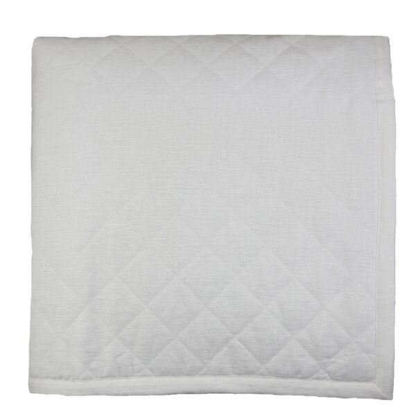 Linen Single Quilted Coverlet