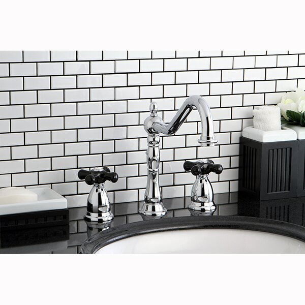 Duchess Widespread Bathroom Faucet with Pop-Up Drain by Kingston Brass