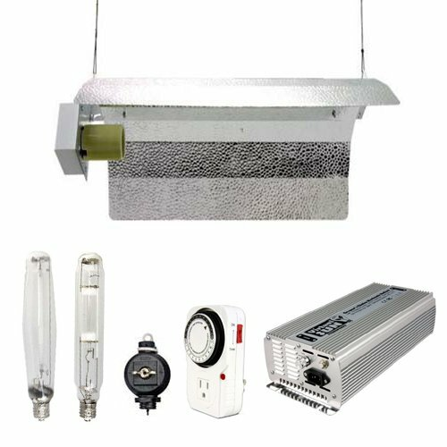 1000 Watt HPS MH Grow Light Tube Reflector Hood Digital Kit by Virtual Sun