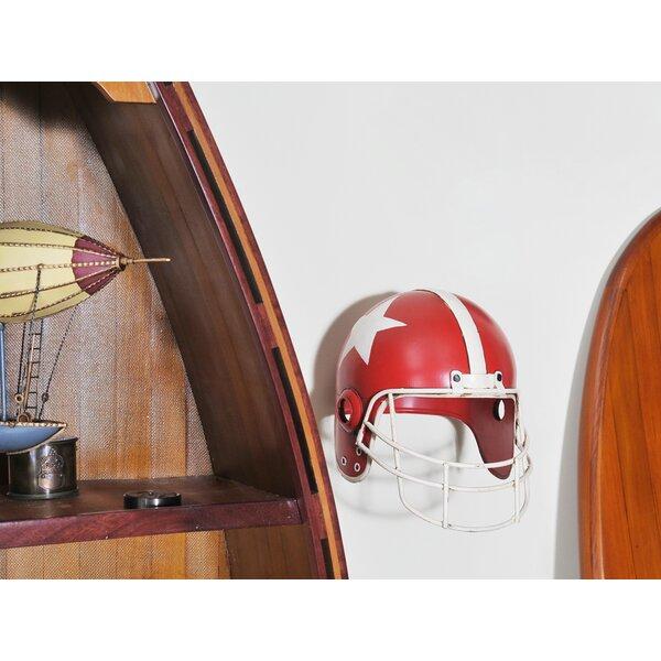 Prunella Football Helmet Sculpture by 17 Stories