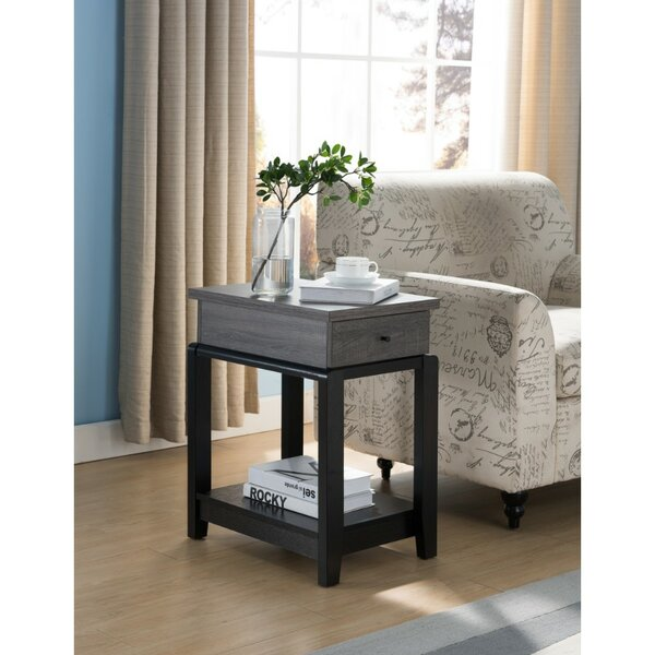 Julianna End Table With Storage By Wrought Studio