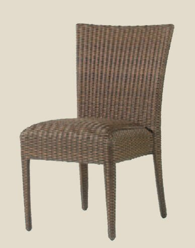 All-Weather Stacking Patio Dining Chair by Woodard Woodard