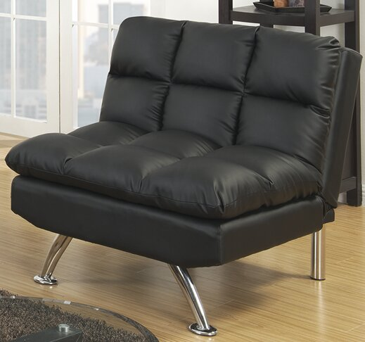 Rohde Convertible Chair by Orren Ellis