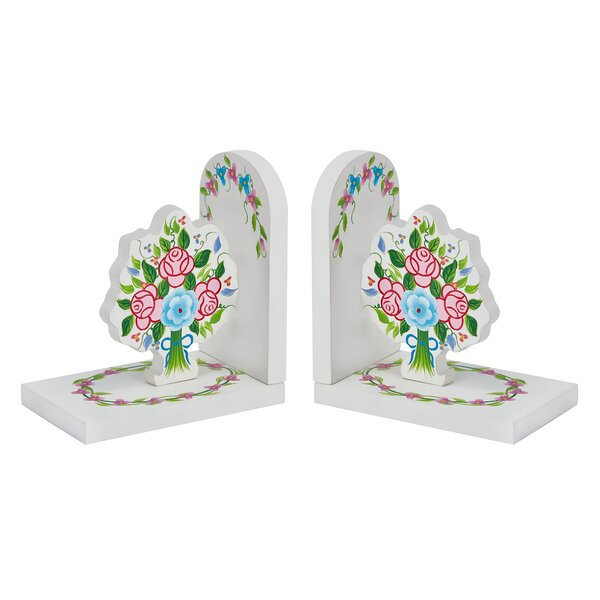 Bouquet Book Ends by Fantasy Fields