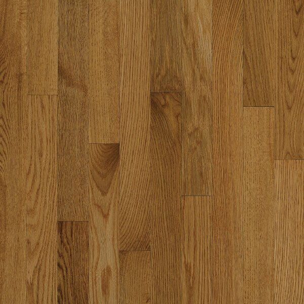 2-1/4 Solid Oak Hardwood Flooring in High Glossy Spice by Bruce Flooring