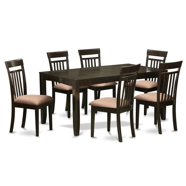 Smithers 7 Piece Extendable Dining Set