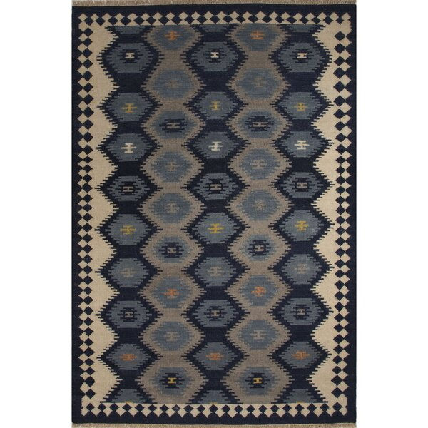Rubina Blue/Gray Area Rug by Bloomsbury Market