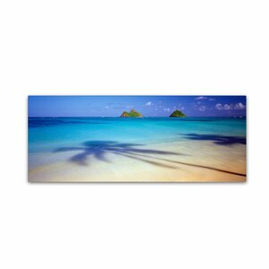 Mokulua, Hawaii by David Evans Photographic Print on Wrapped Canvas by Trademark Fine Art