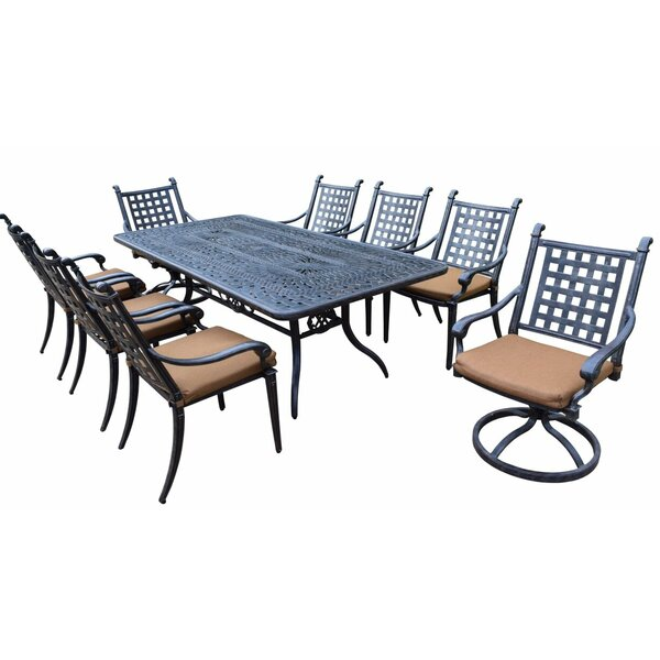 Arness 12 Piece Metal Dining Set and Lounge Set by Darby Home Co