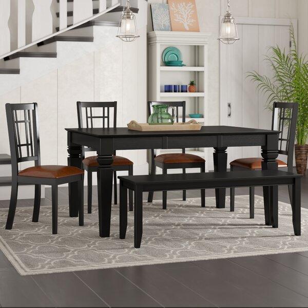 Pennington 6 Piece Extendable Dining Set by Beachcrest Home