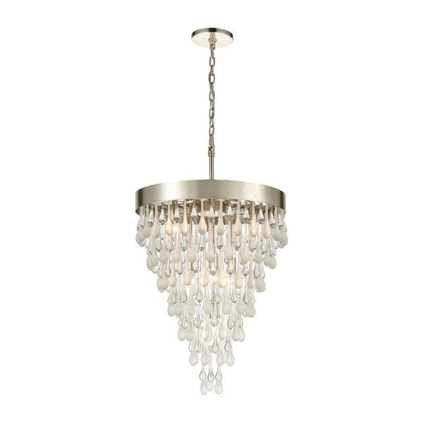Lumley 7 - Light Unique Geometric Chandelier By House Of Hampton