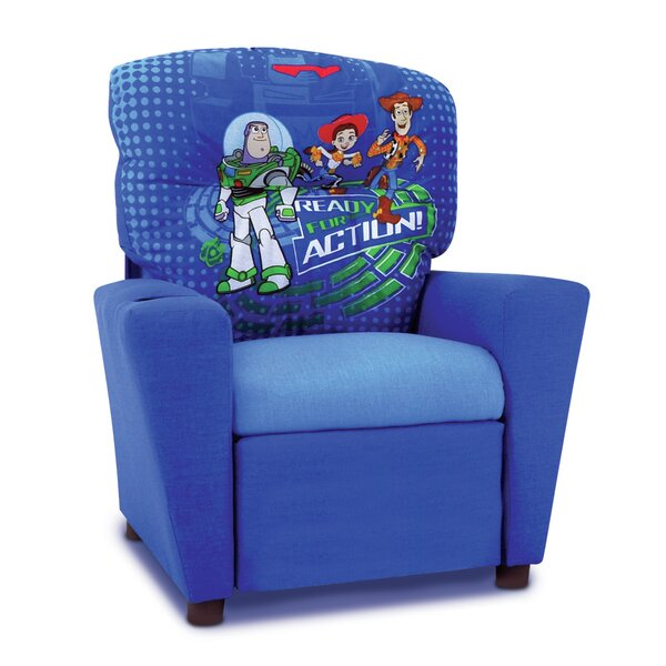 Disney Toy Story 3 Kids Recliner with Cup Holder by Kidz World
