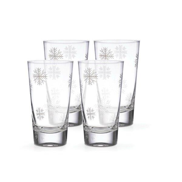 Alpine 16 oz. Glass Highball Glass (Set of 4) by Lenox