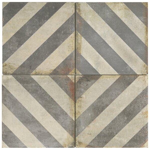 Relic Décor 8.75 x 8.75 Porcelain Field Tile in Obliqua by EliteTile