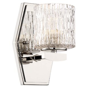 Inexpensive Campas 1-Light LED Bath Sconce By Orren Ellis