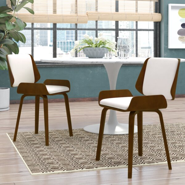 Burney Upholstered Dining Chair (Set of 2) by Wade Logan