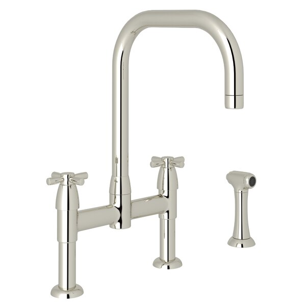 Holborn Bridge Faucet with Side Spray