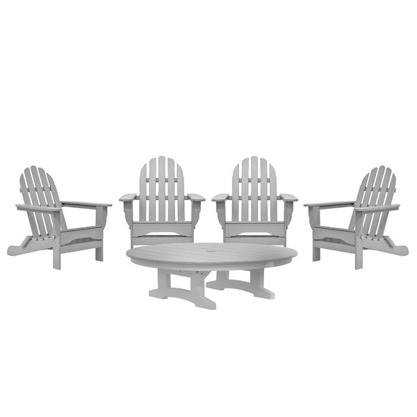 Ben 5 Piece Multiple Chairs Seating Group by Rosecliff Heights Rosecliff Heights