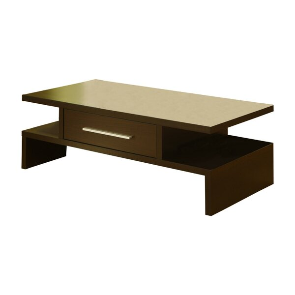 Doner Sled Coffee Table With Storage By Latitude Run