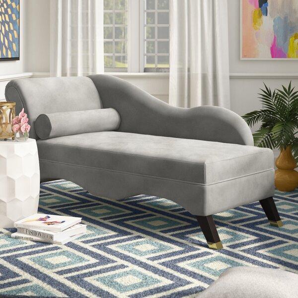 Retro Chaise Lounge By Willa Arlo Interiors