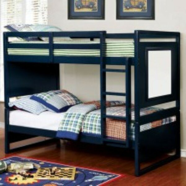 Newmarket Twin over Twin Bunk Bed by Harriet Bee