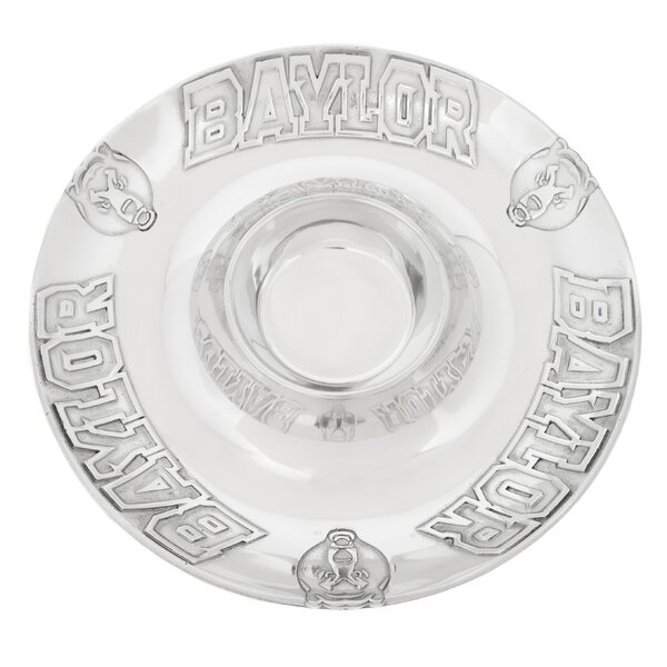 Collegiate Baylor Chip and Dip Platter by Arthur Court Designs