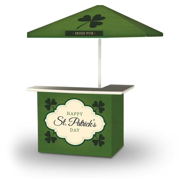 Yussuf St Patricks Day Old Irish Beer 2-Piece Home Bar Set by East Urban Home East Urban Home
