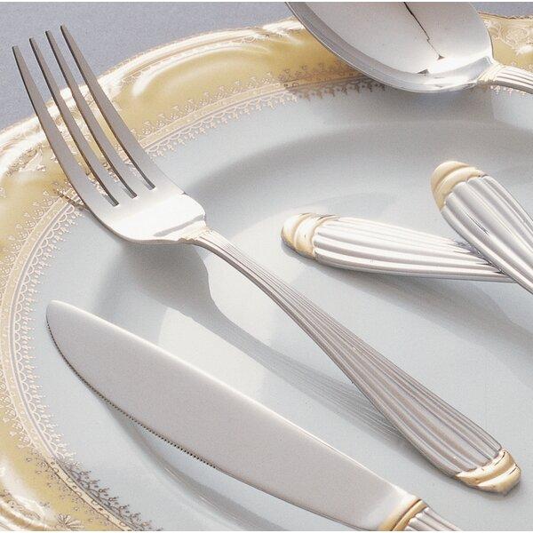 Greer Stainless Steel Dinner Fork (Set of 4) by Mint Pantry