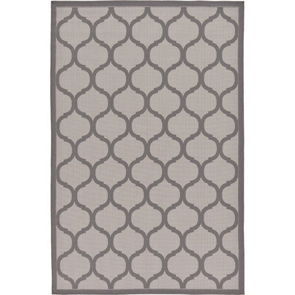 Unionville Gray Outdoor Area Rug by Charlton Home