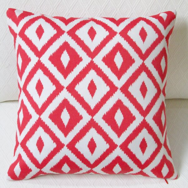 Coastal Geometric Modern Indoor/Outdoor Pillow Cover (Set of 2) by Artisan Pillows