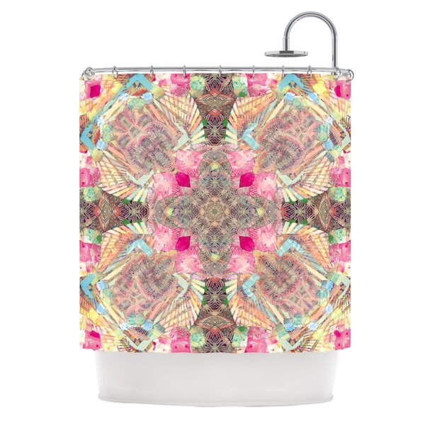 Indian Clash by Danii Pollehn Shower Curtain by East Urban Home