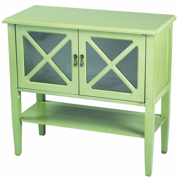 Kirkby 2 Door Console Accent Cabinet by Highland Dunes