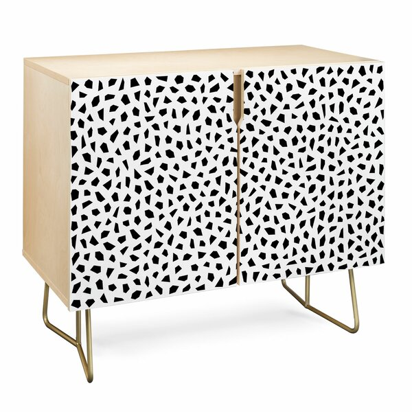 Kelly Haines Geometric Mosaic Accent Cabinet By East Urban Home