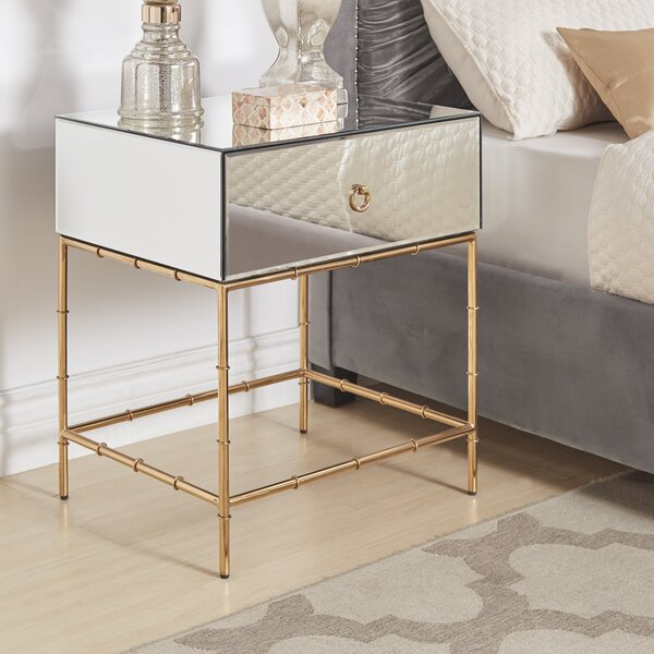 Moise 1 Drawer Nightstand by Mercer41
