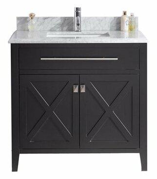 Wimbledon 36 Single Bathroom Vanity Set by LavivaWimbledon 36 Single Bathroom Vanity Set by Laviva