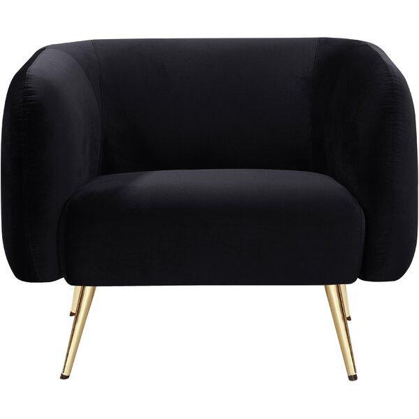 Abrielle Barrel Chair by Everly Quinn