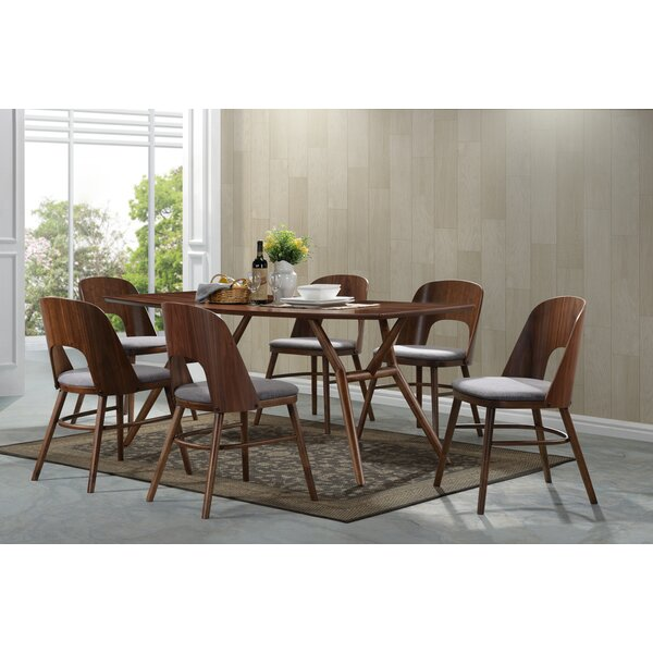 Kirsten 7 Piece Solid Wood Dining Set by Corrigan Studio