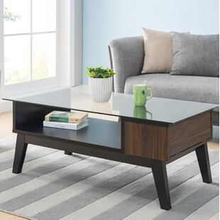 Normandie Coffee Table with Storage George Oliver