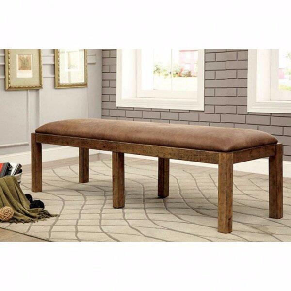 Dale Wood Bench by Fleur De Lis Living