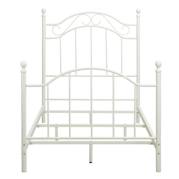 Gadji Metal Twin Panel Bed by August Grove